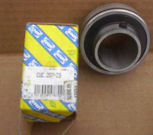 "SNR, bearing CUC.207-23, 1-7/16"", set screw"