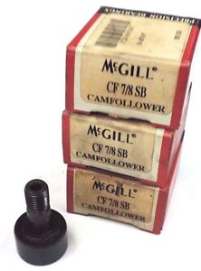 LOT OF 3 NIB MCGILL CF 7/8 SB CAM FOLLOWERS CF78SB
