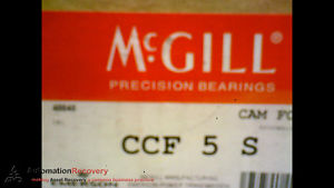 MCGILL CCF 5 S CAM FOLLOWER  5 INCH OUT SIDE ROLLER DIAMETER,  #173439