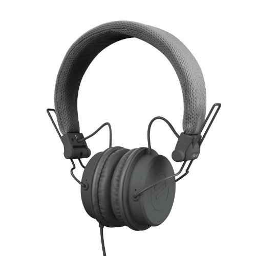Reloop RHP-6 Ultra Compact DJ and Lifestyle Headphones, Retractable, Closed,