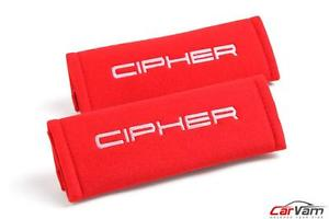 Cipher Auto – Red 3 Inches Harness Pads (CPA8001RHP-RD)
