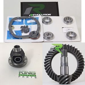 High Pinion Dana 30 4.88 Upgrade Kit Revolution Gear And Axle