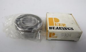 PEER BEARINGS  6004 SINGLE ROW BALL BEARING