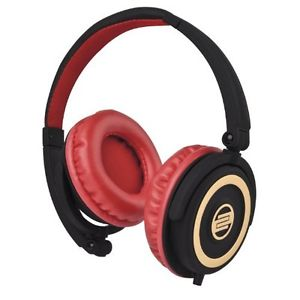 Reloop RHP 5 Casque DJ Rouge/Or