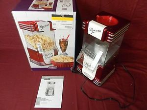 Nostalgia Electrics RHP-625 Hot Air Popcorn Maker -USED