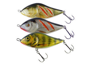 New colors 2016 Jerkbait Salmo Slider SD12S – sinking 12cm 70g leurres