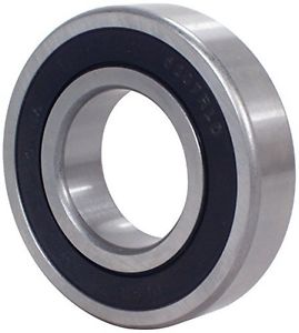 "Peer Bearing 1616-2RS 1600 Series Radial Bearing, 0.5"" ID, 1.125"" OD, 0.37500"""