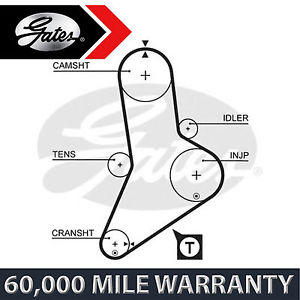 FOR FIAT DUCATO 2.5 2.8 (1990-2002) GATES TIMING CAM BELT CAMBELT CAMSHAFT