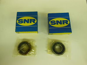 (2) SNR Bearing 6202 F20 – Lot of 2 –