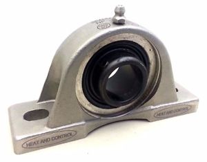 "Sealmaster NP-16C CR, Two Bolt Cast Iron Pillow Block Bearing, 1"" Diameter"