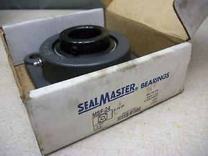 "Seal Master MSF-24 4 Bolt 1-1/2"" Set Screw Gold Line Standard USA"