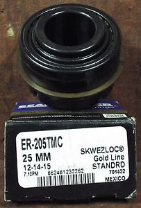 1  SEALMASTER ER-205TMC 25MM GOLDLINE BEARING ***MAKE OFFER***