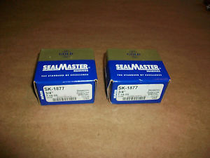"2pc SealMaster Gold Line Bearing SK-1877  3/4""     IN BOX"