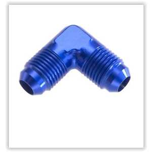 Red Horse Products 821-03-1 AN To An Flare Adapter -03 MALE 90 DEGREE AN/JIC FLA