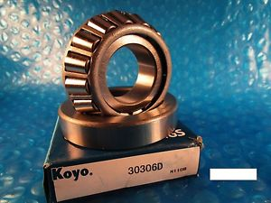 KOYO Cone and Bearing Set 30306, 30306 D (=2 FAG , SKF, NSK, NTN 4T, SNR)